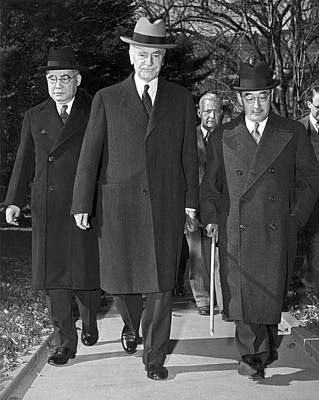 Ambassador Photograph - Japanese Wwii Peace Envoy by Underwood Archives