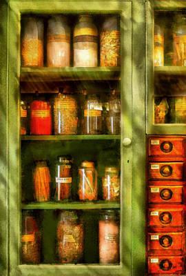 Suburban Digital Art - Jars - Ingredients II by Mike Savad
