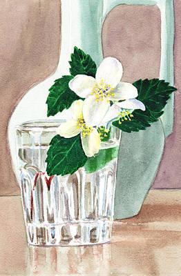 By Irina Painting - Jasmine by Irina Sztukowski