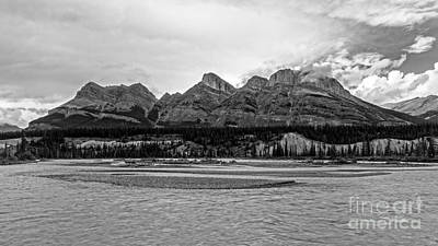 Colombia Photograph - Jasper National Park Canadian Rockies by Edward Fielding