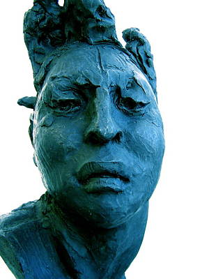 Richard Macdonald Photograph - Javier Marin Sculpture by Micael Pace