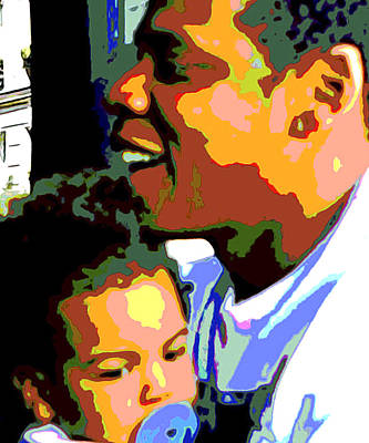 Jay And Blue Original by Oscar Lester