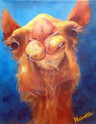 Jay Z Painting - Jay Z Camel by Deborah Naves