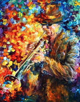 Jazz Feel Original by Leonid Afremov