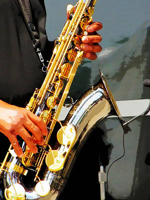 Jazz Man Original by John Freidenberg