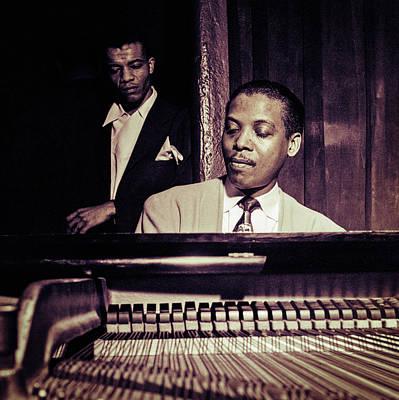 Jazz Pianist Photograph - Jazz Pianist Kenny Kersey by Carlos Lazurtegui