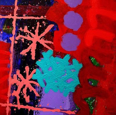 Inspirational Painting - Listening To John Coltrane Jazz Process  II by John  Nolan