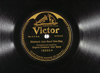 Jazz Record, 1917 Print by Granger