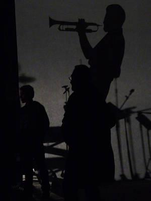Jazz Shadows Print by Bill Mock