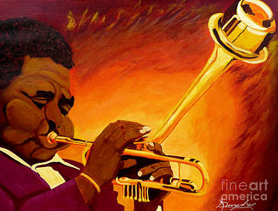 Jazzman Dizzy Gillespie Original by Anthony Dunphy