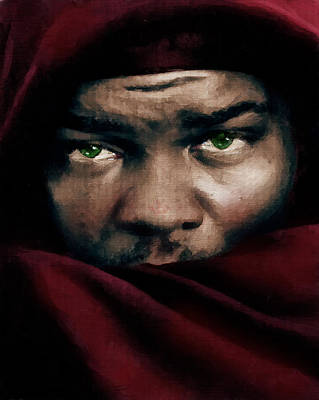 Eyes Painting - Jealous Othello by Georgiana Romanovna