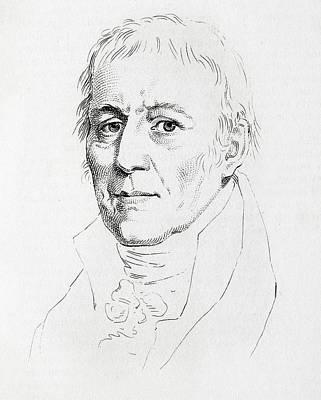 Taxonomy Photograph - Jean Baptiste Lamarck by Paul D Stewart