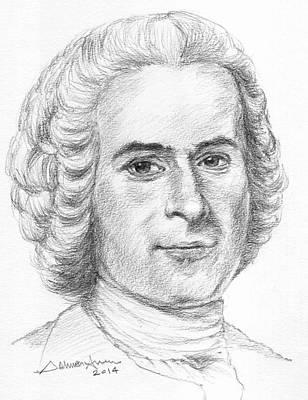 Jean-jacques Rousseau Original by Salman Ameer