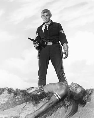 Jeff Photograph - Jeff Chandler by Silver Screen