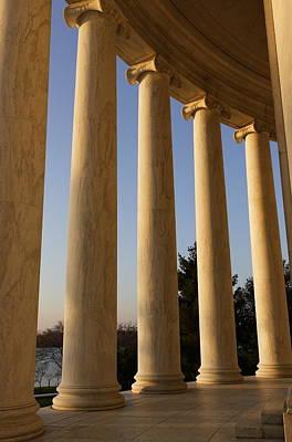 Jefferson Columns 2 Original by Jaime Costanzo