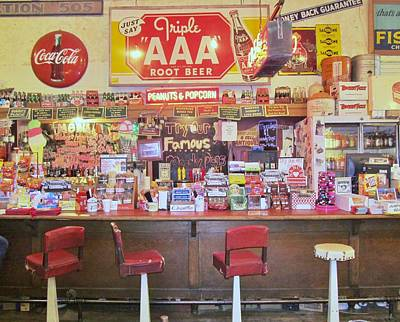 Jefferson Texas General Store Print by Donna Wilson