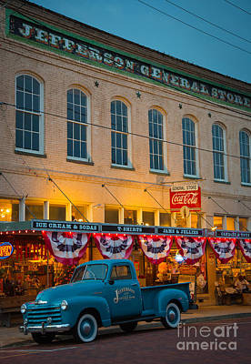 Storefront Photograph - Jefferson General Store by Inge Johnsson