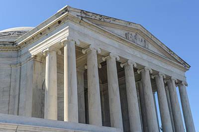 Law Photograph - Jefferson Memorial In Washington Dc by Brandon Bourdages