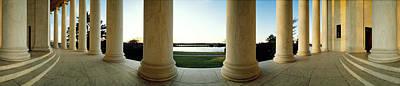 Jefferson Memorial Washington Dc Print by Panoramic Images