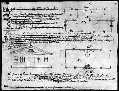 Jefferson: Slave Quarters Print by Granger