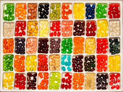 Jelly Beans Print by Anne Kitzman