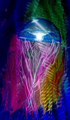 Jelly Fish Original by Luis  Navarro