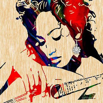 Movie Mixed Media - Jennifer Lopez Collection by Marvin Blaine