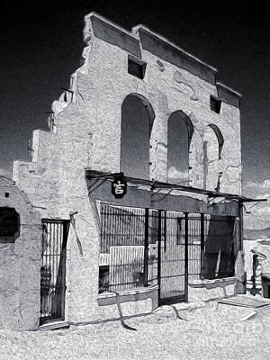 Jerome Arizona - Jailhouse Ruins Print by Gregory Dyer