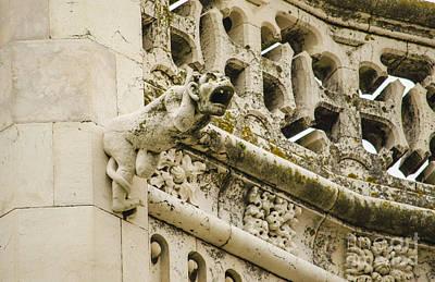 Stone Photograph - Jeronimos Monastery Gargoyle 6 by Deborah Smolinske