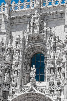 Jer Photograph - Jeronimos Monastry Church Lisbon by Paul Donohoe
