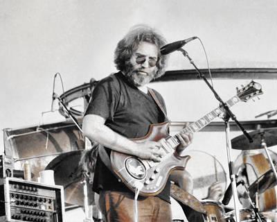 Jerry Garcia Band Photograph - Jerry Garcia by Allan Van Gasbeck