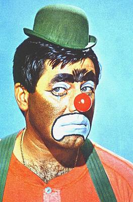 Painted Face Mixed Media - Jerry Lewis In The Family Jewels by Art Cinema Gallery