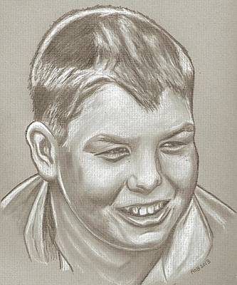 Corey Drawing - Jerry O'connell Drawing by Robert Crandall