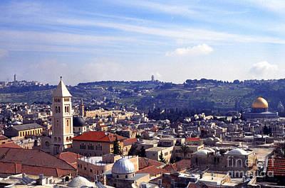 Jerusalem Print by Thomas R Fletcher