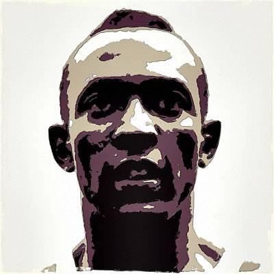 Sprinting Digital Art - Jesse Owens Poster Art by Florian Rodarte