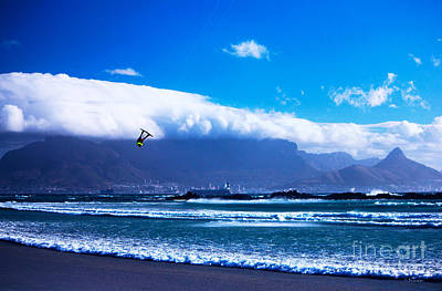 Southafrica Photograph - Jesse - Redbull King Of The Air Cape Town - Table Mountain  by Charl Bruwer