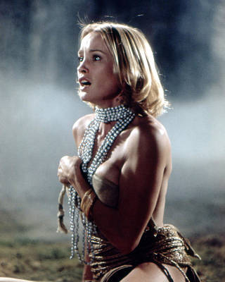 King Kong Photograph - Jessica Lange In King Kong  by Silver Screen