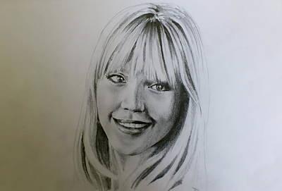 Jessica Alba Drawing - Jessica by Slavisa Krunic