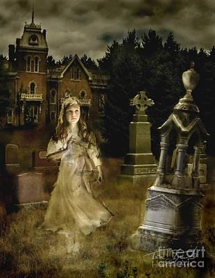 Victorian Death Digital Art - Jessica by Tom Straub
