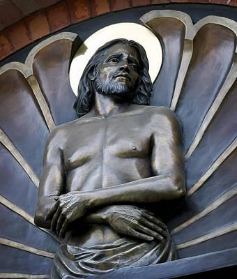 Jesus Cathedral Icon -  Spokane Washington Print by Daniel Hagerman