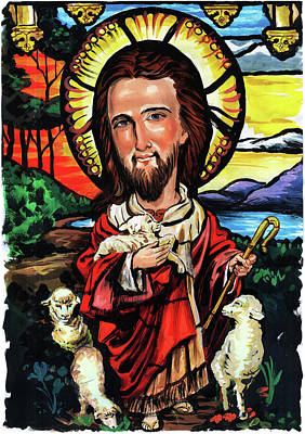Painting - Jesus Christ by Art