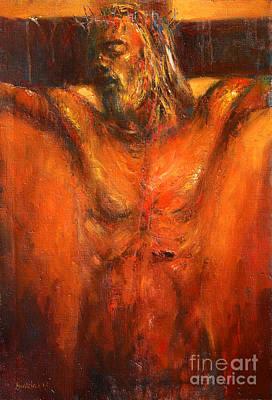 Jesus Christ Crucifixion Original by Michal Kwarciak
