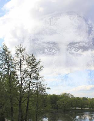 Jesus Christ Digital Art - Jesus Christ Eyes Compassion by Georgeta Blanaru
