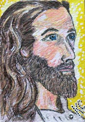 Jesus Christ Print by Kathy Marrs Chandler