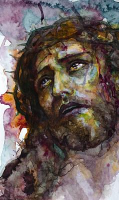 Jesus Christ Icon Painting - Jesus Christ by Laur Iduc