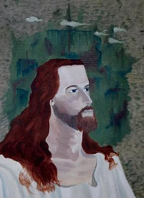 Jesus Christ Print by Susan Roberts