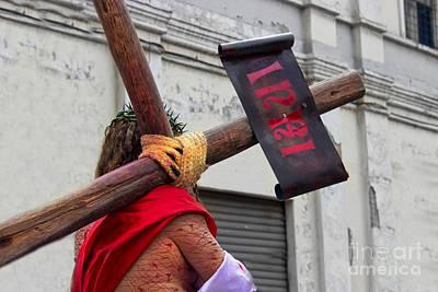 Jesus Died For Us IIi Print by Al Bourassa