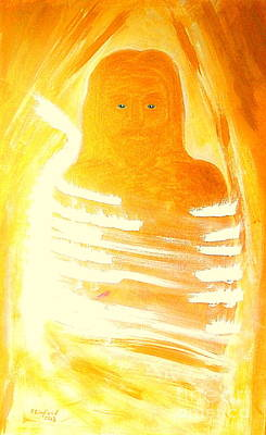 Separation Painting - Jesus Is The Resurrected Christ Messiah by Richard W Linford