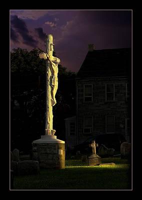 Jesus Print by Rick Mosher