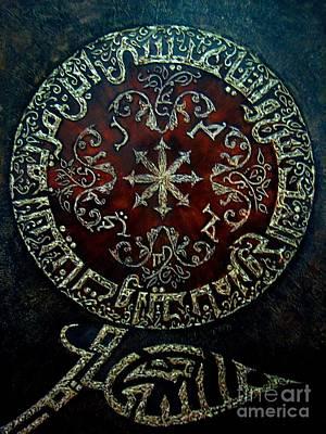Jesus Son Of Mary Print by Najeeb Alnasser